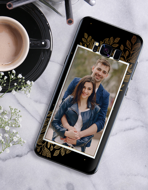 gifts: Personalised Laurel Photo Samsung Cover!