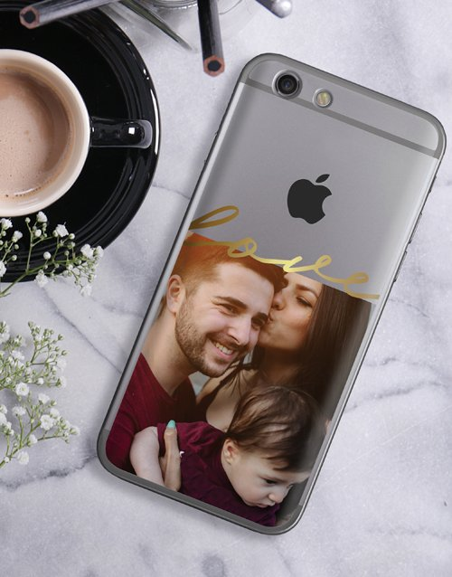 anniversary: Personalised Love Photo iPhone Cover!