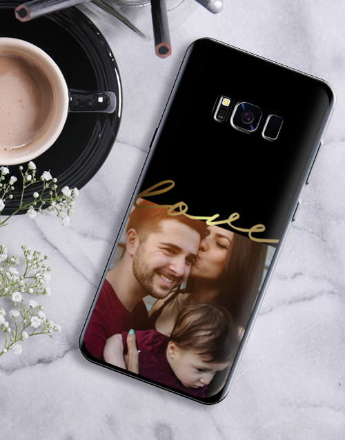 anniversary: Personalised Love Photo Samsung Cover!