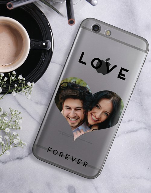 personalised: Personalised Heart Photo iPhone Cover!