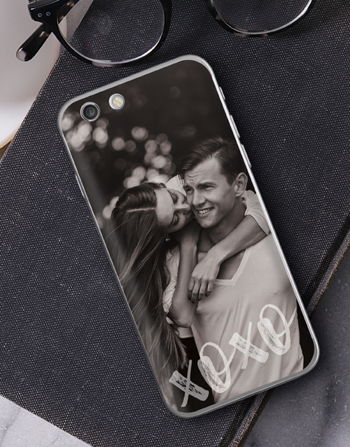 birthday: Personalised XO Photo iPhone Cover!