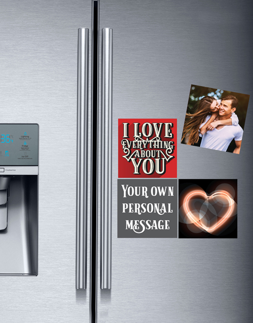 gadgets: Personalised Romantic Fridge Magnets!