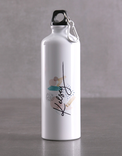 spring-day: Personalised Pattern Waterbottle!
