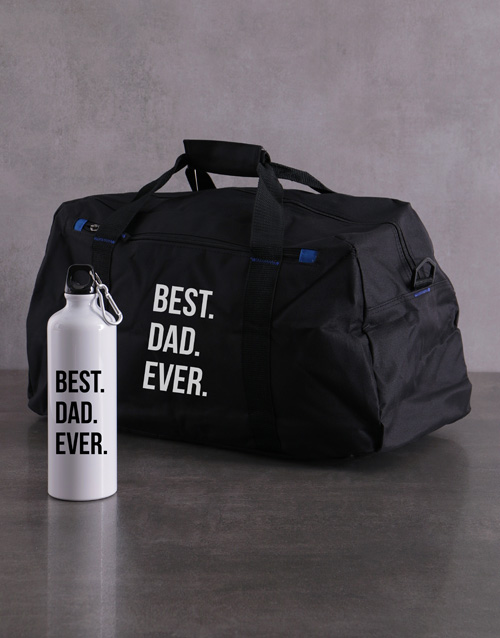 activewear: Personalised Best Ever Waterbottle and Gym Bag!
