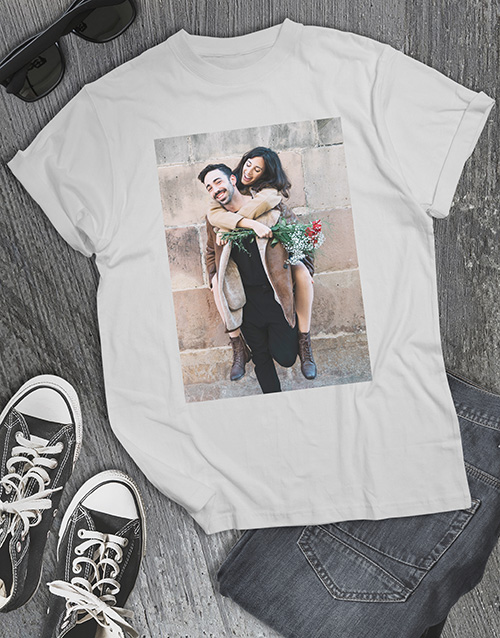 valentines-day: Personalised Photo T Shirt !