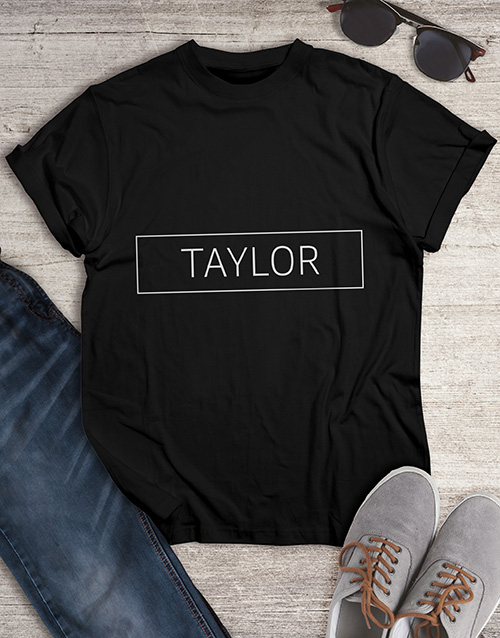 clothing: Personalised Name T Shirt !