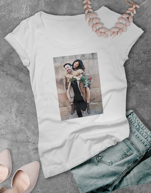 mothers-day: Personalised  Photo Ladies T Shirt!