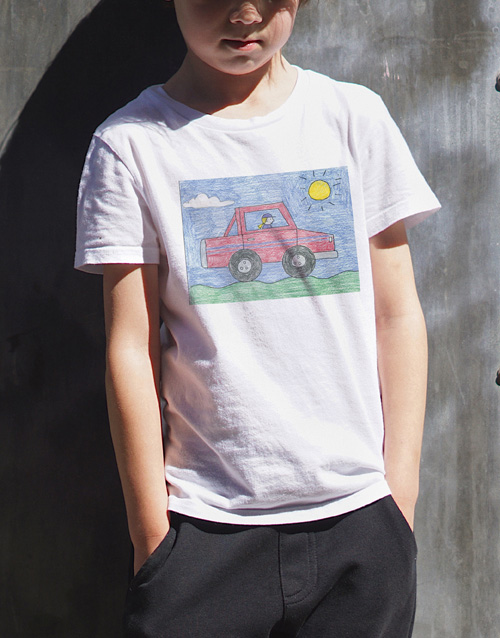 christmas: Personalised Photo Kids T Shirt!
