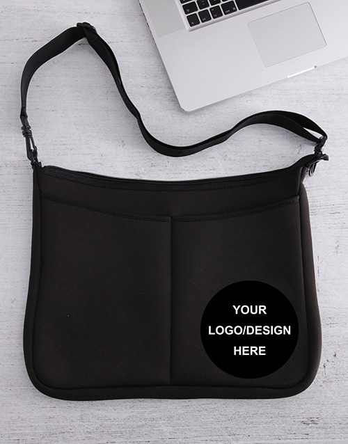 personalised: Personalised Own Logo Laptop Bag!