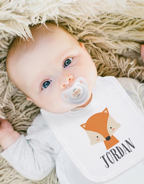 baby: Personalised Woodlands Clothing Set!
