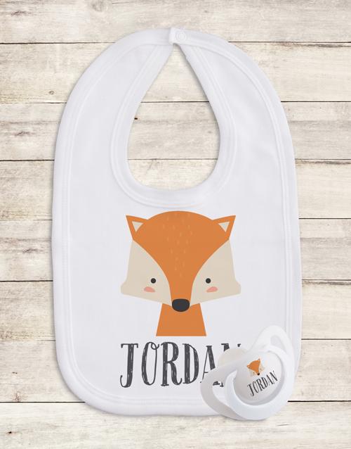 baby: Personalised Woodlands Gift Set!