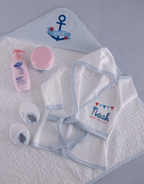 baby: Personalised Little Sailor Spoil Set!