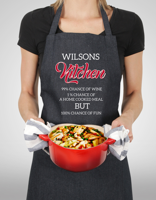 personalised: Personalised Fun Apron!