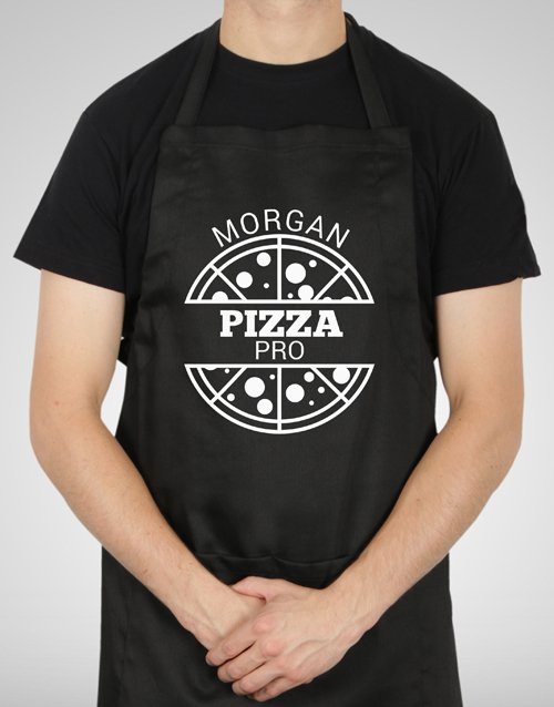 personalised: Personalised Pizza Pro Apron!