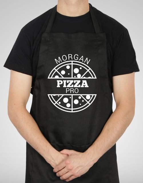 christmas: Personalised Pizza Pro Apron!
