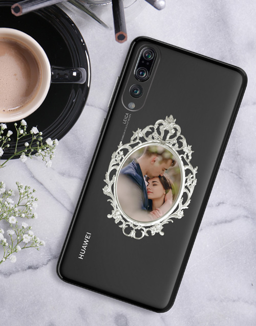 gadgets: Personalised Ornate Frame Huawei Cover!