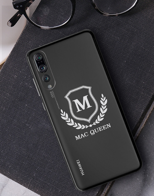 personalised: Personalised Shield Huawei Cover!