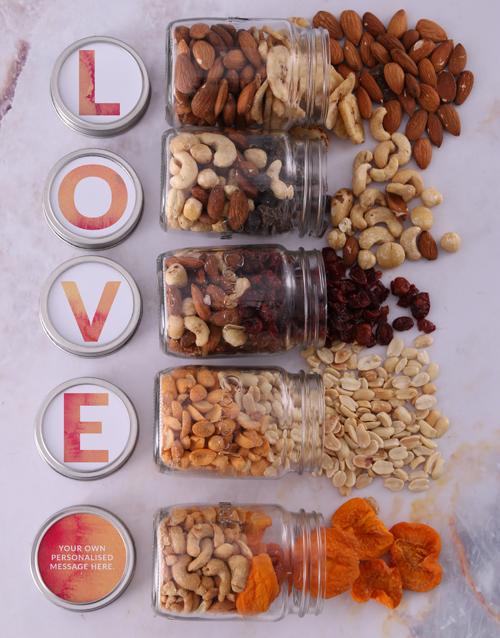 gourmet: Personalised Love Preserve Jar Set!