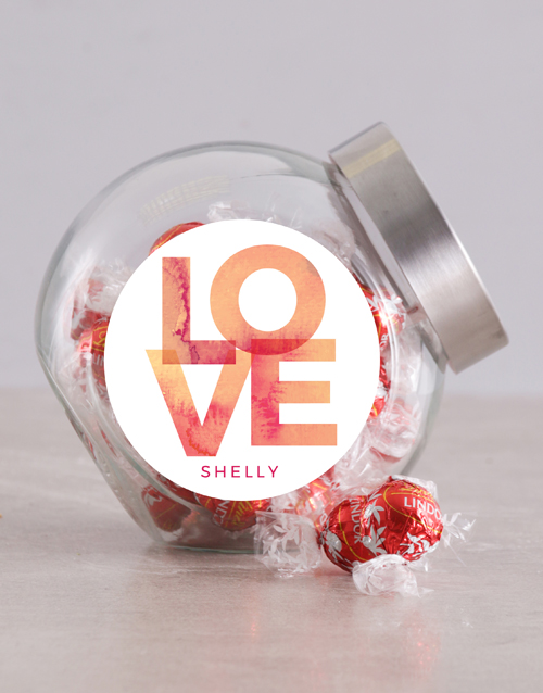 love-and-romance: Personalised Love Candy Jar!