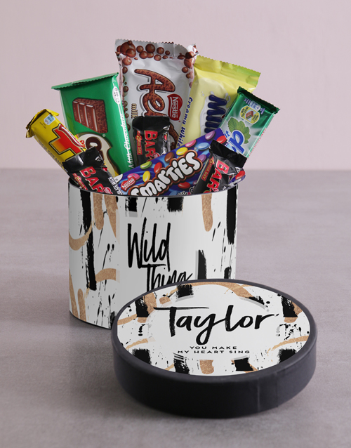 valentines-day: Personalised Wild Thing Hat Box!