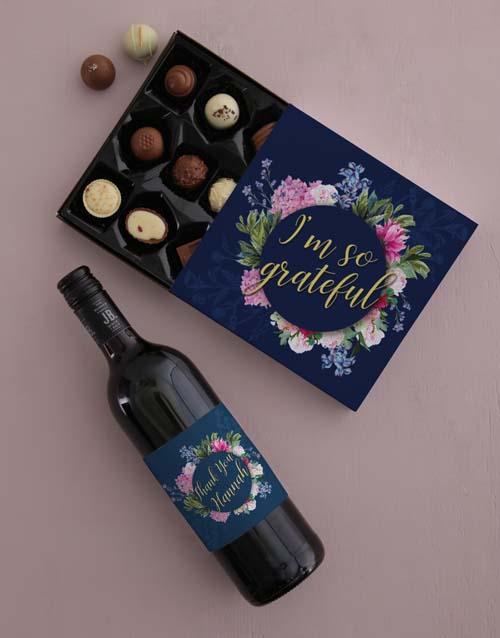 chocolate: Personalised Gratitude Gift Set!