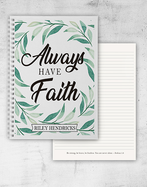 christmas: Botanical Faith Notebook!