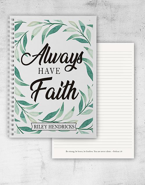 easter: Botanical Faith Notebook!