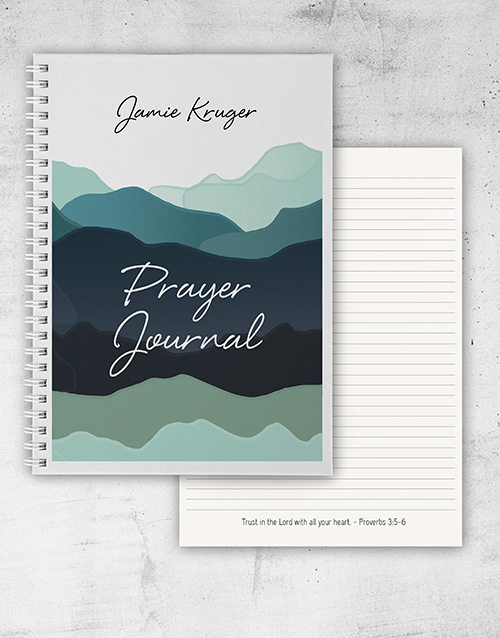 fathers-day: Personalised Prayer Journal!