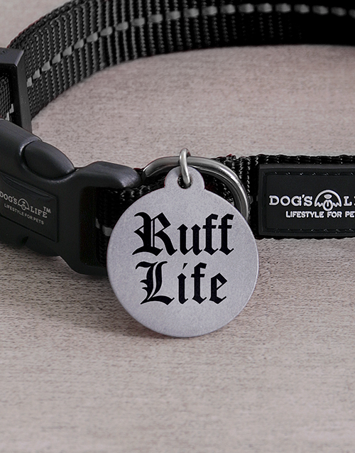 personalised: Personalised Ruff ID Tag And Collar!