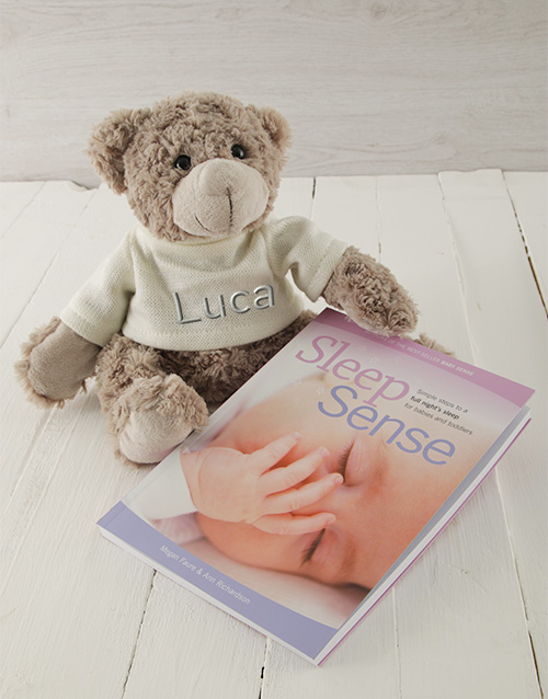 baby: Personalised Sleep Sense Book Gift Set!
