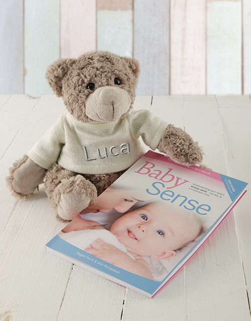 baby: Personalised Baby Sense Book Gift Set!