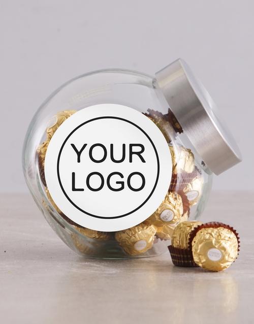 chocolate: Own Logo Candy Jar!