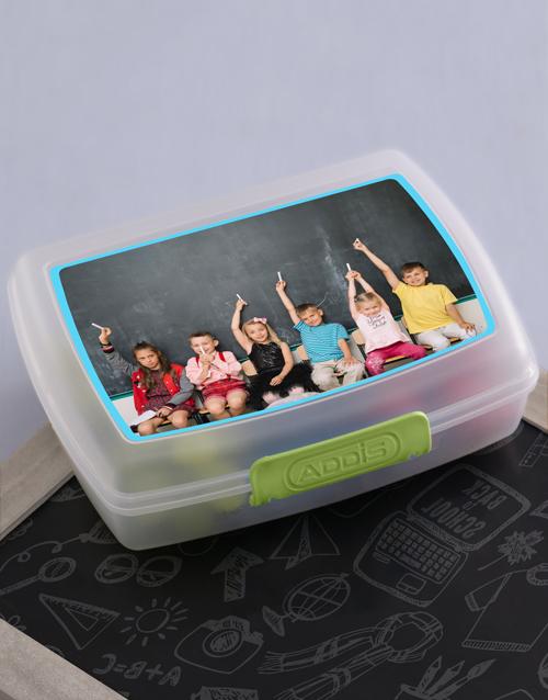 kids: Personalised Image Upload Kids Lunch Box!