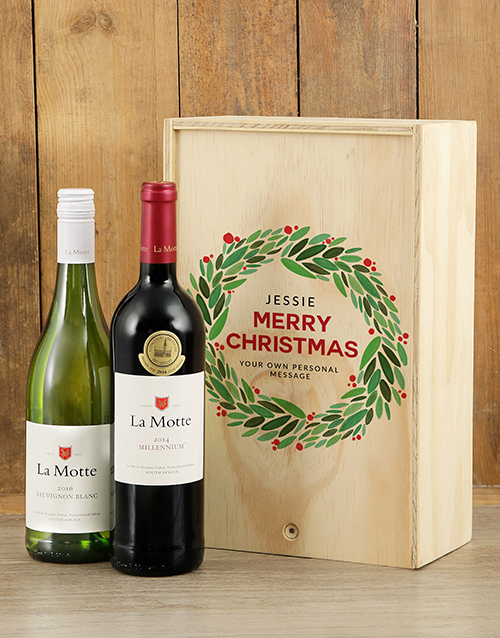 gifts: Personalised Christmas La Motte Printed Crate!