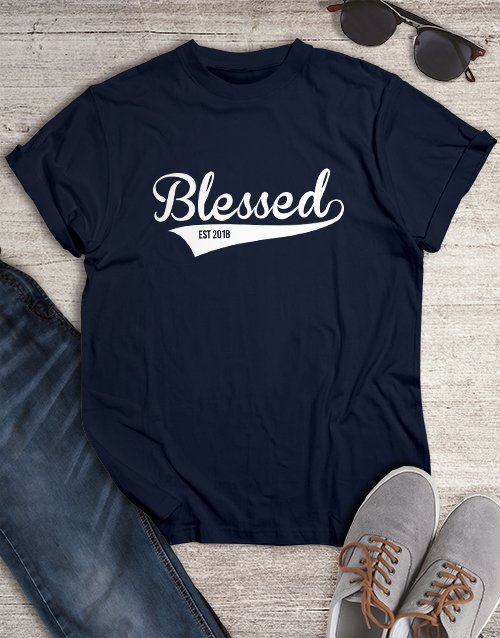 personalised: Blessed Christian Shirt!