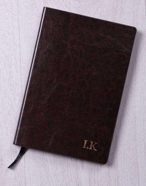mothers-day: Personalised Initials Gilded Notebook!