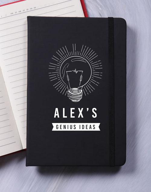 personalised: Personalised Genius A5 Notebook!