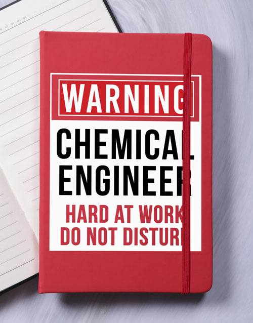 notebooks: Personalised Warning A5 Notebook!