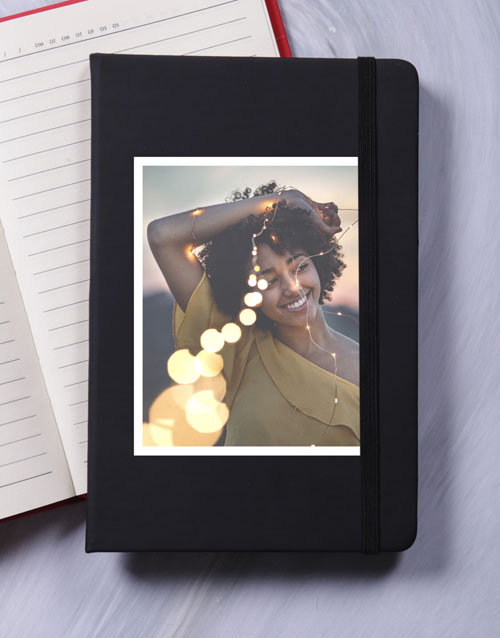 birthday: Personalised Photo A5 Notebook!
