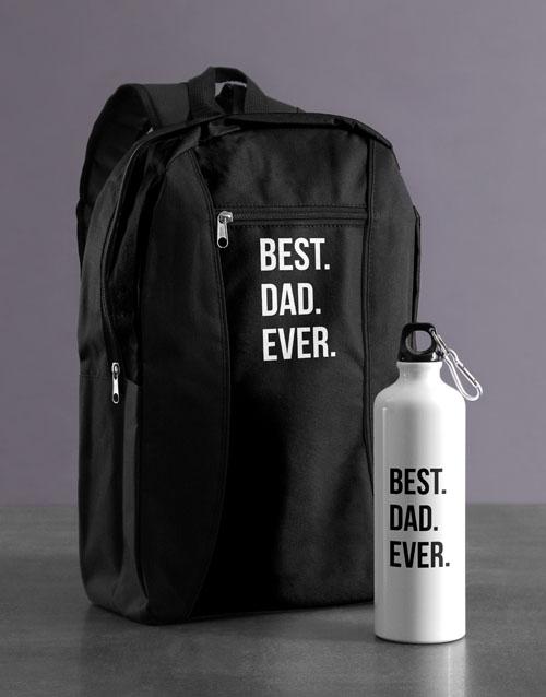 personalised: Personalised Best Ever Backpack & Waterbottle!