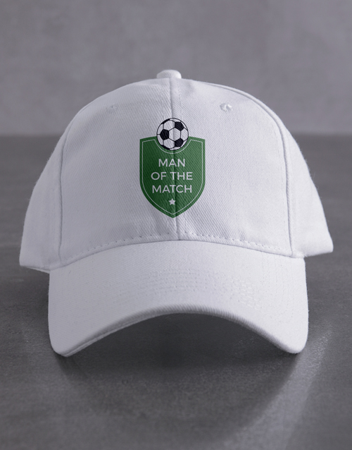 activewear: Personalised Soccer Shield Cap!