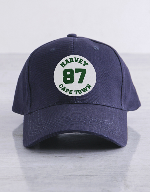 personalised: Personalised Heritage Cap!