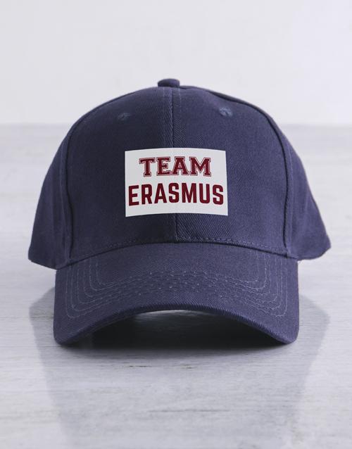 personalised: Personalised Team Navy Cap!