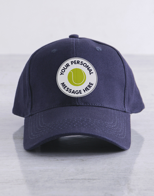 activewear: Personalised Tennis Cap!