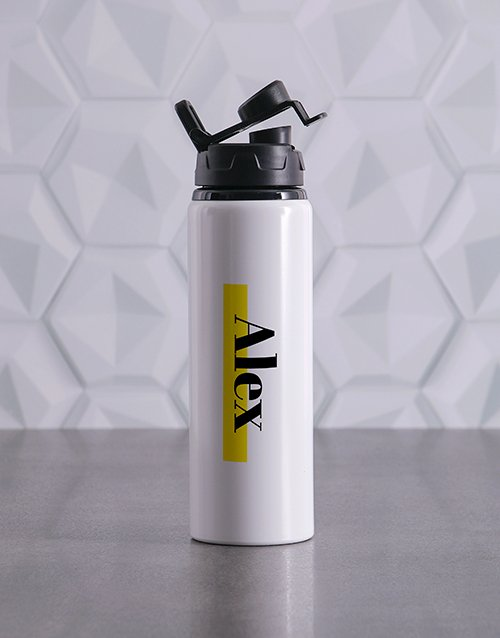 activewear: Personalised Highlight Waterbottle!