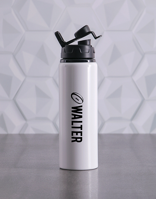 fathers-day: Personalised Rugby Waterbottle!