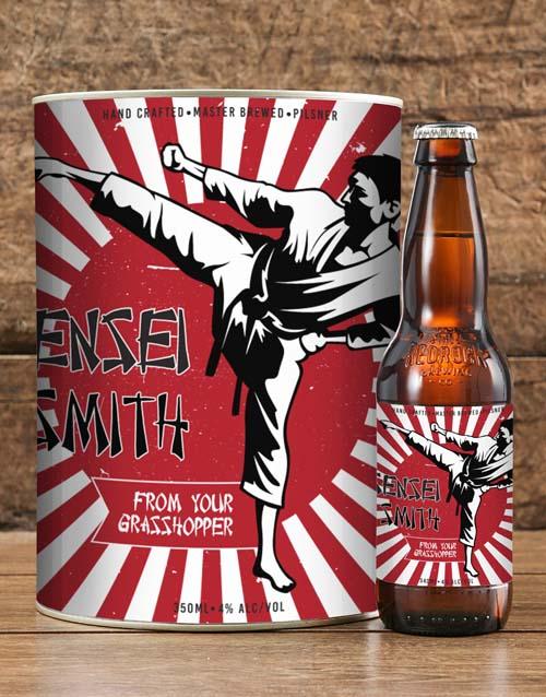thank-you: Personalised Sensei Craft Beer!