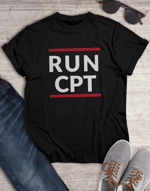 personalised: Personalised Run T Shirt!