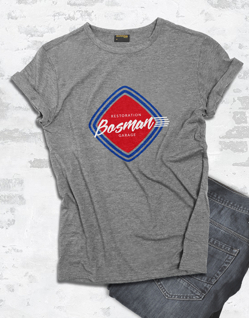 personalised: Personalised Retro Service T Shirt!