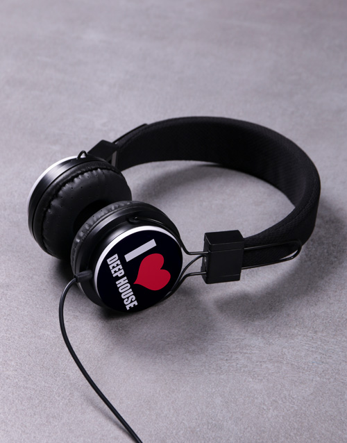 valentines-day: Personalised I Heart Headphones!